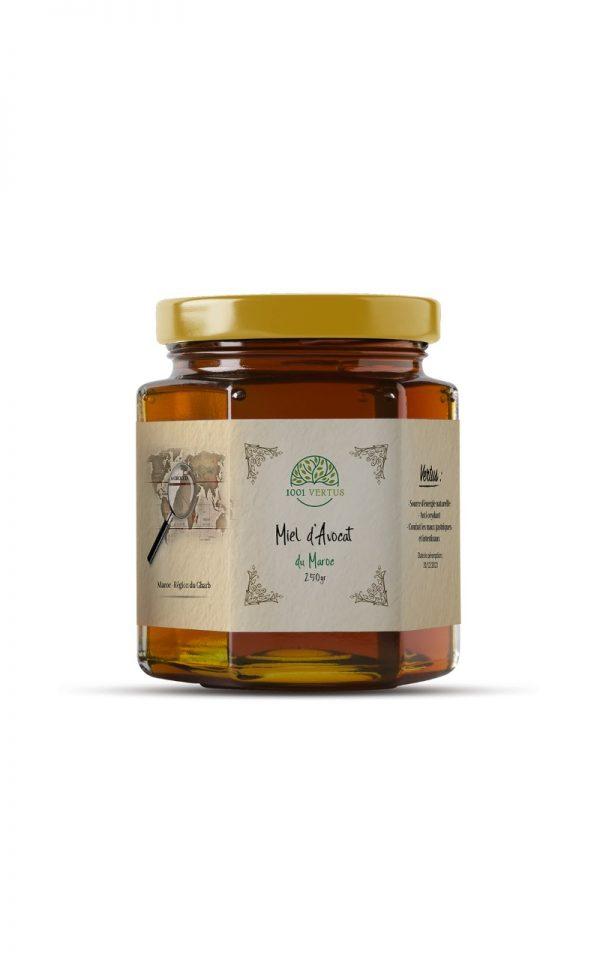 miel d'avocat 125g - 1001 vertus