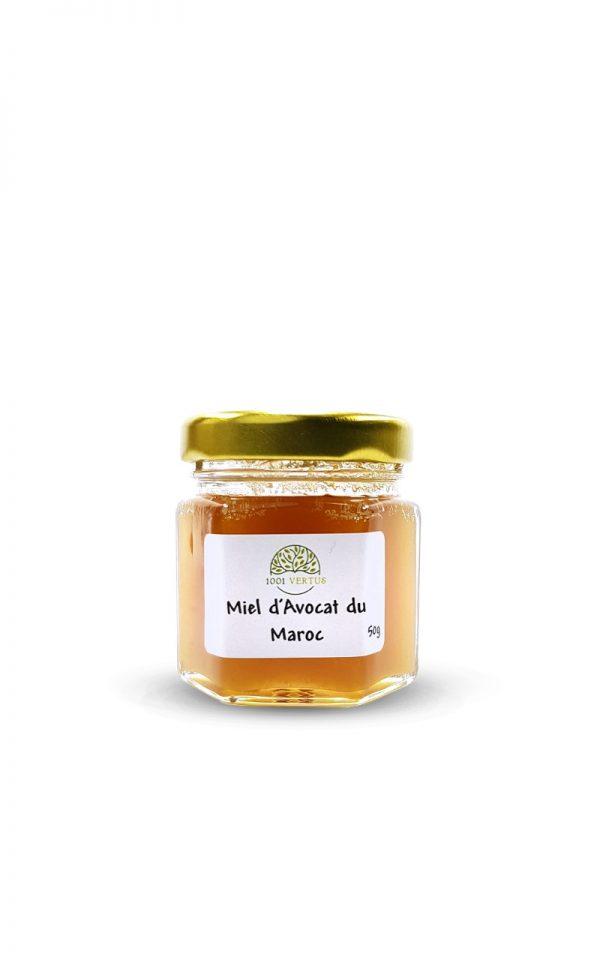 miel d'avocat du Maroc 50g - 1001 vertus