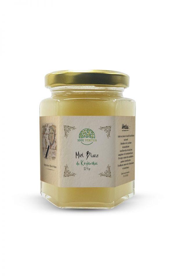 miel blanc du Kirghizistan 125g - 1001 vertus