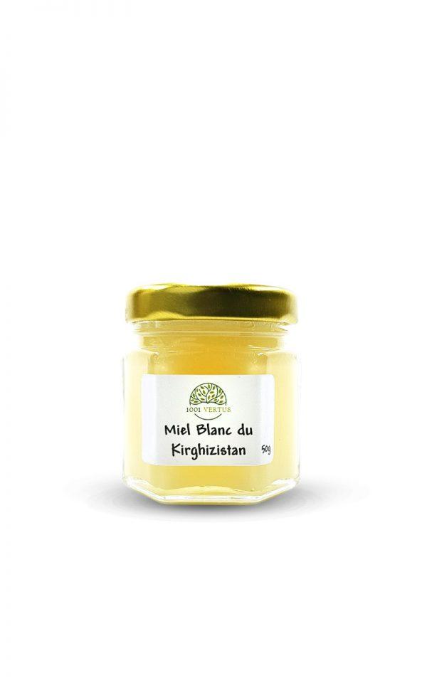 miel blanc du Kirghizistan 50g - 1001 vertus