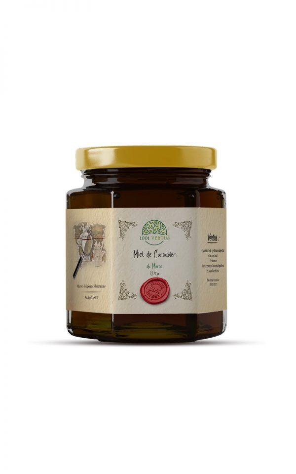 miel de caroubier 125g - 1001 vertus