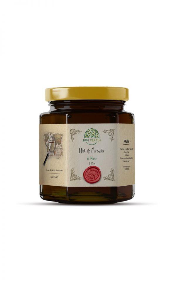 miel de caroubier 250g - 1001 vertus