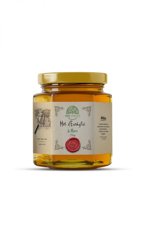 miel d'eucalyptus 250g - 1001 vertus