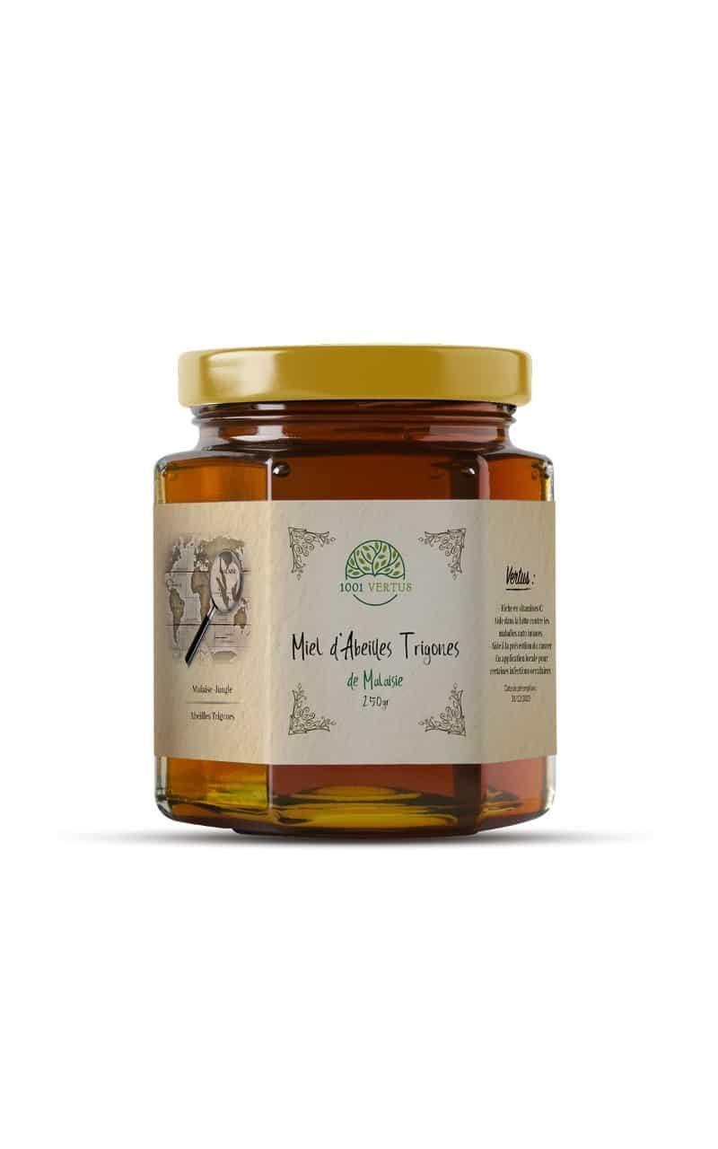 Miel d'abeille trigone de la jungle de Malaisie