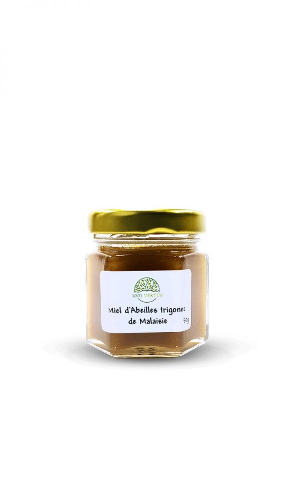miel d'abeille Trigone de Malaisie 50g - 1001 vertus