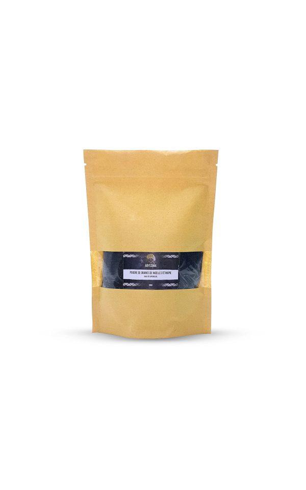 poudre de graines de nigelle d'Ethiopie Abyssinia - 1001 vertus