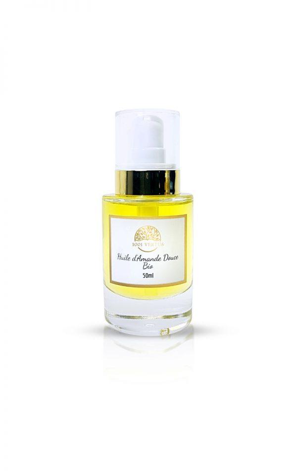 huile d'amande douce BIO 50ml 1001 vertus
