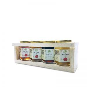 coffret miel L'abeille guérisseuse 125g - 1001 vertus