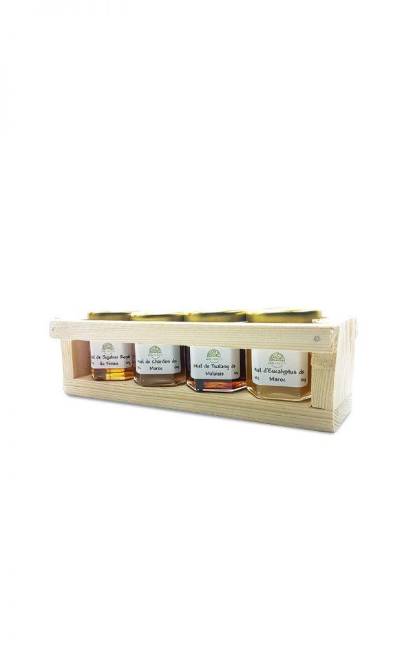 coffret miel L'abeille guérisseuse 50g - 1001 vertus