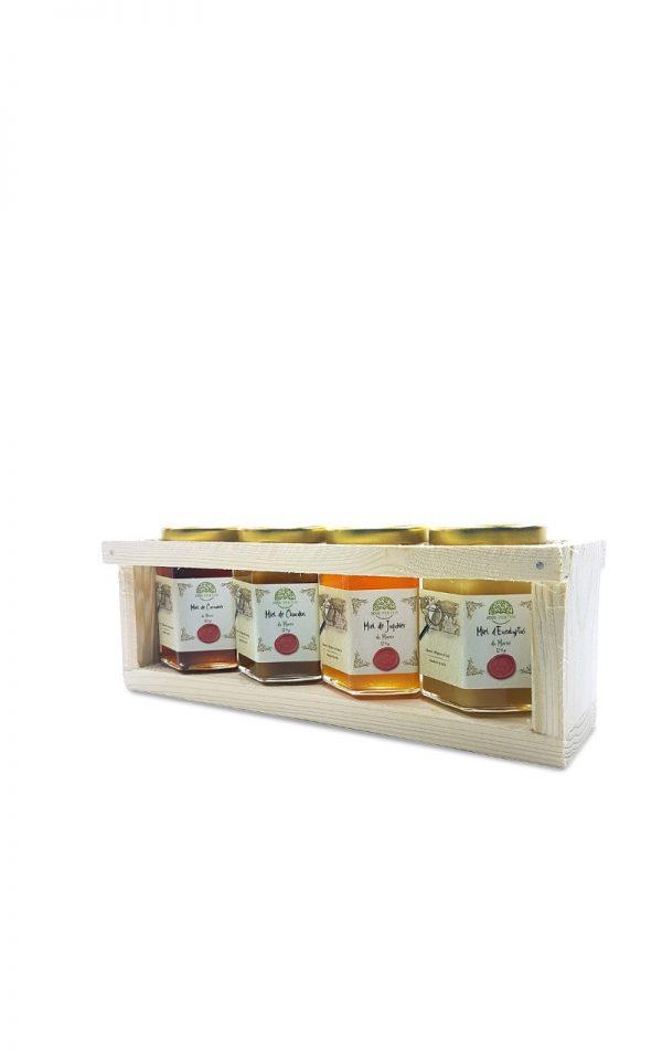 Coffret miel Le Maroc au microscope 125g - 1001 vertus