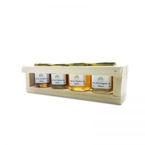 Coffret miel Le Maroc au microscope 50g - 1001 vertus