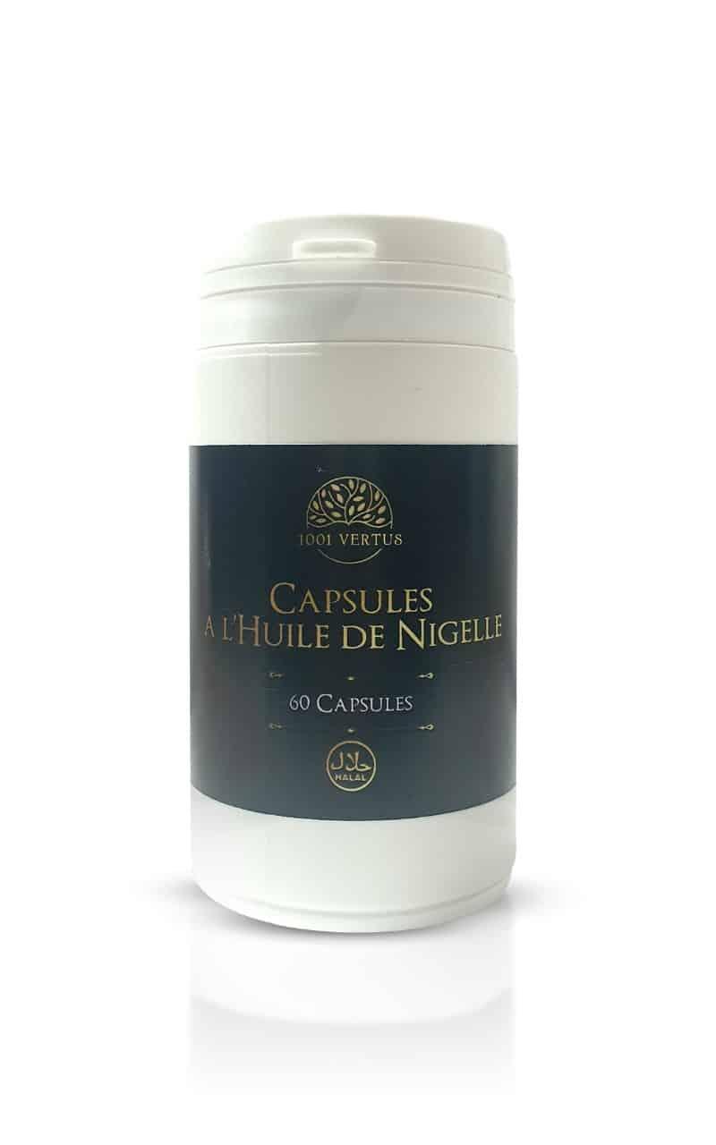 Gélules à l'huile de nigelle - 1001 vertus