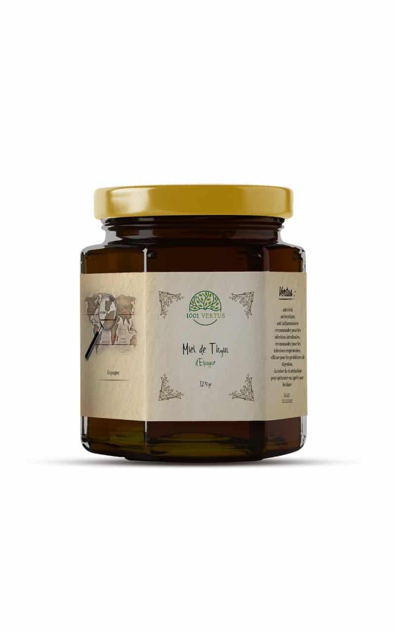 Miel de thym d'Espagne 125g - 1001 vertus