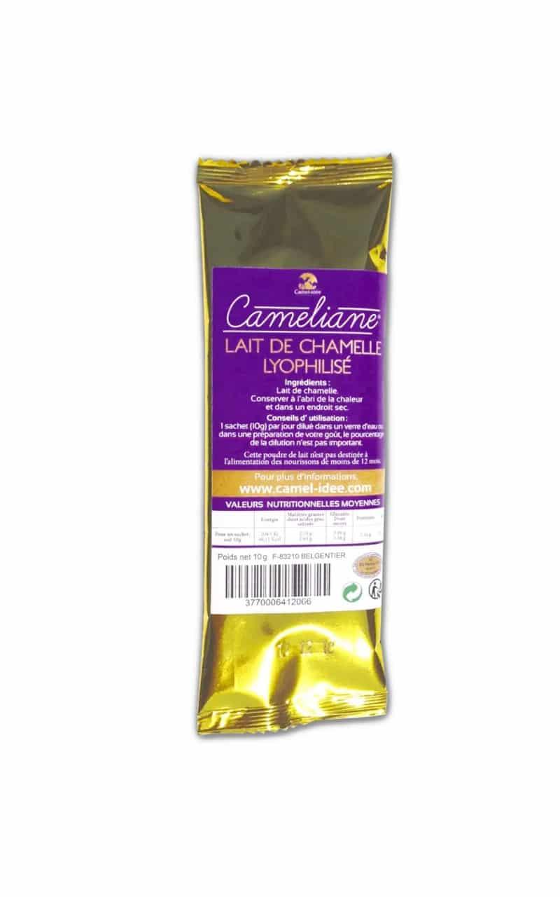 Lait de chamelle en poudre - 2 dosettes de 10g