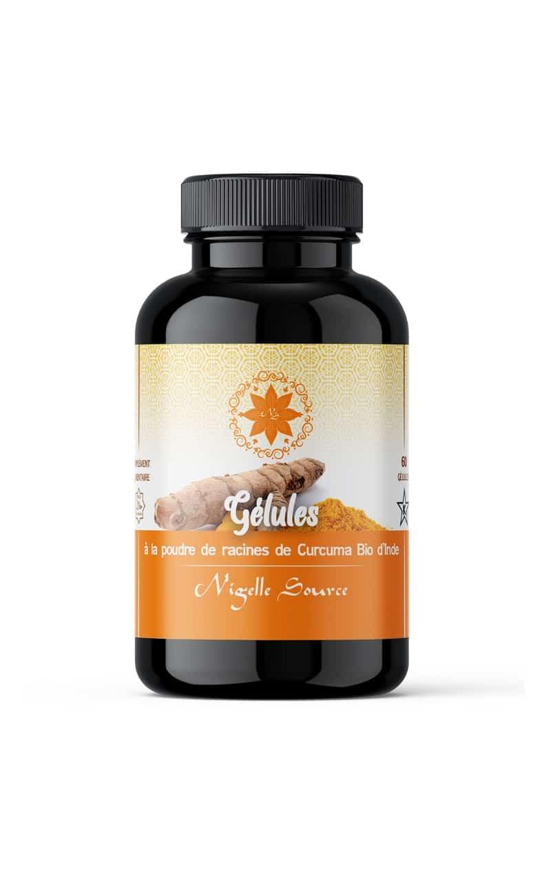 gélules de curcuma BIO - Nigelle source