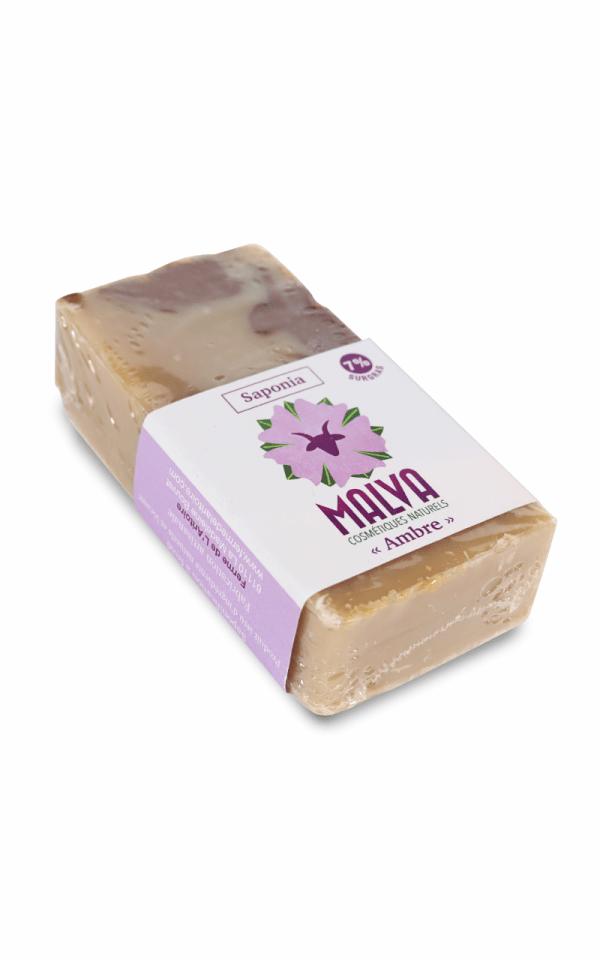 Savon au lait de chèvre Ambre - MALVA
