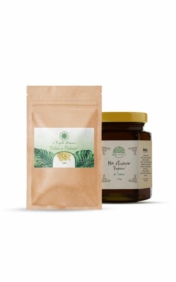 pack fertilité - cure de 1 mois - miel de daghmous