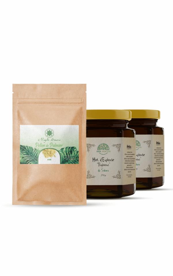 pack fertilité - cure de 2 mois - miel de daghmous