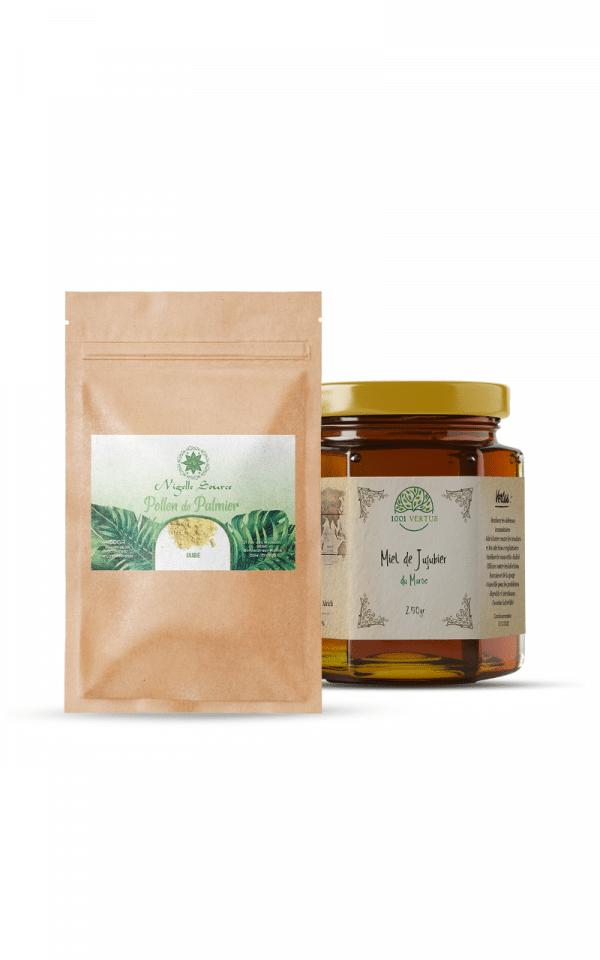 pack fertilité - cure de 1 mois - miel de sidr
